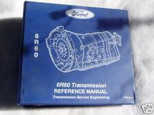 Ford 6R60 Transmission Manual