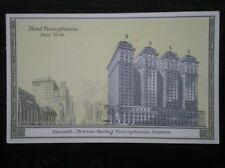 POSTCARD USA HOTEL PENNSYLVANIA - NEW YORK