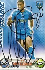 Armand Traore Signed Trading Card (Portsmouth)