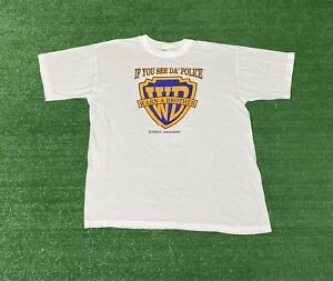 Vintage If you See Da Police Warn a Brother SHIRT Bahamas Size XL