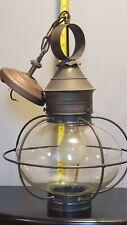 COPPER  Northeast Lantern 2542 Caged Onion Hanging