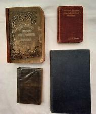 4x Dictionary / Wörterbücher Englisch/ Deutsch; Italienisch. Alt bis neuer.