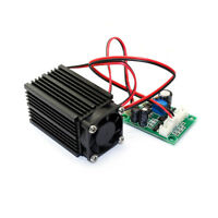 660nm 200mW Red Laser Module Industrial 12V with TTL Modulation + 12V 1A Adapter