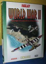 "Flight Sim Toolkit World War II (2)  3-1/2"" Floppy Disk CIB"