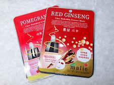 2 Malie Red Ginseng Ultra Hydrating Essence Mask Moisturizing