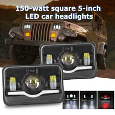 """300W 4x6"""" inch LED Headlights Sealed Beam DRL Light for Chevy S10 1995 1996 1997"""