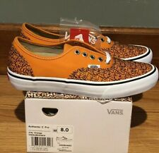 Vans x F*cking Awesome Era Authentic Orange Men's Sz 8 DS FA Dill