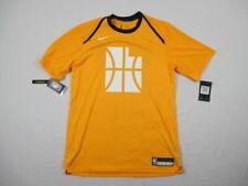 NEW Nike Utah Jazz - Yellow Dri-Fit Short Sleeve Shirt (3XLTT)