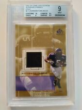 2001 SP GAME USED EDITION AUTHENTIC FABRICS GOLD LADAINIAN TOMLINSON #LT. BGS...