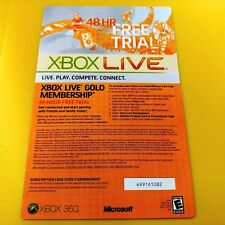 XBOX LIVE GOLD 2 DAY TRIAL 48 HOUR DLC ADD-ON #16