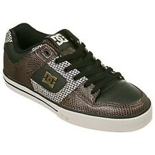 DC SKATEBOARD SHOES Pure SE Choc Black Oyster 11.5 M