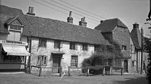 B/W Negative Odiham Hampshire George H Terry Shop 1944 + Copyright DB629
