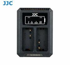 JJC DCH-BLC12 USB Dual Battery Charger for DMW-BLC12, Sigma BP-51, Leica BP-DC12