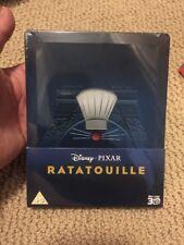 RATATOUILLE 3D Blu-Ray SteelBook Zavvi UK Exclusive 2-Disc Disney. New OOP Rare!