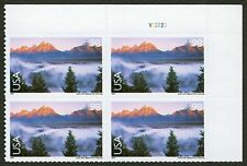 #C147 98c Grand Teton Nat'l Park, Plate Block, Mint **ANY 4=FREE SHIPPING**