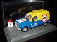 4L15F 1/43 UNIVERSAL HOBBIES M6 RENAULT 4 : 4 F6 Darty 1986