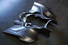 YAMAHA YFZ 450R YFZ 450X 09 - 13 SILVER PLASTIC REAR FENDER