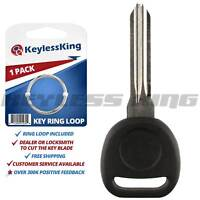 ID 46 Discount Keyless Replacement Ignition Transponder Uncut Key Compatible with Y170-PT 2 Pack