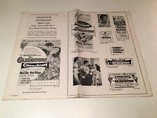 Demetrius And The Gladiators 1954 Original Exhibitor's Campaign Book Pressbook
