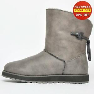 Skechers Keepsakes 2.0 Hearth Warm Tech Women's Mid Boots Grey