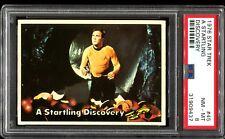 1976 Topps Star Trek #45 A STARTLING DISCOVERY PSA 8 NM-MT F