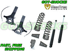 """4.5"""" FRONT / 3"""" REAR LIFT KIT FOR 2009-2017 RAM 1500 2WD MAXTRAC SUSPENSION"""