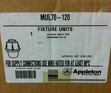 APPLETON MUL70-120  70w HPS *NEW*  **FREE SHIPPING **   4 FIXTURES AVAILABLE