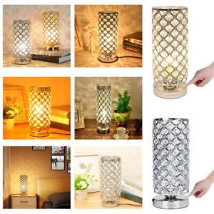 Kristall Touchlampe Nachttisch-Lampe 5W Wohnzimmerlampen Schreibtischlampe