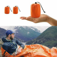 Outdoor Emergency Thermal Waterproof Sleeping Bag Camping Survival Bivvy bara