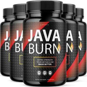 5 Pack Java Burn Supplement Javaburn Pills 300 Capsules