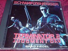 TERMINATOR 2 JUDGMENT DAY - ORIGINAL MOTION PICTURE SOUNDTRACK - CD ALBUM