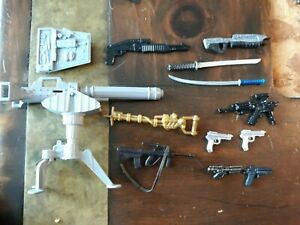 "Weapons 6"" scale 1:12 weapons Guns  Accessories G.I. Joe  Marvel Legends Lot 2"