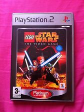 Lego Star Wars: The Video Game- Platinum Ed. (Sony Playstation 2, 2005 - UK PAL)