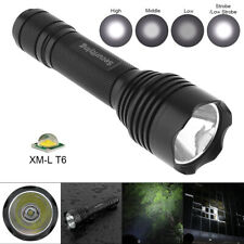 SecurityIng Waterproof XM-L T6 LED Flashlight Torch Lamp 5 Mode for Outdoor