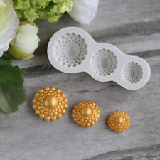 3D Vintage Flower Silicone Mold Mould Cake Decoration DIY Chocolate Baking Tools