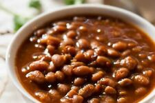 BAKED BEANS FREEZE DRIED * HIKING * CAMPING * SURVIVAL * EMERGENCY FOOD