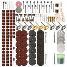 217Pcs Sanding Drum Kit For Nail Drill Bits Dremel Accessories Rotary Tool US
