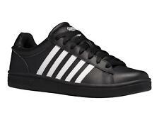 K-Swiss Mens Court Winston Court Sneakers in Black/Black/White