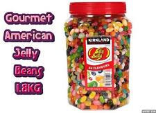 American Gourmet Jelly Belly Beans Dulce Regalo De Navidad Jar 1.8KG Candy 44 Sabores