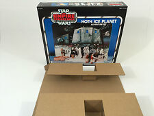 brand new star wars esb hoth ice planet box + inserts