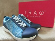 TRAQ by ALEGRIA Qest Smart Walking Blue Lace Sneaker Shoes US 8 - 8.5 EUR 38 NWB