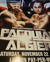Manny Pac Man Pacquiao vs. Chris Algieri - poster print Boxing UFC MMA Fight