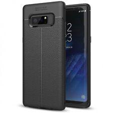 Samsung Galaxy Note 8 Leder Look Handy Hülle von NALIA Silikon Cover Case Schutz