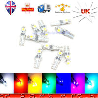 10X T5 286 3SMD 3528 Wedge LED Car Dashboard Instrument Light Bulbs 12V