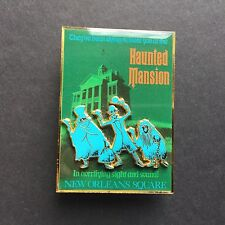 Disneyland Attraction Poster Haunted Mansion Hitchhiking Ghosts Disney Pin 49886