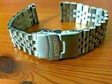 22mm Seiko jubilee straight lugs stainless steel gents watch bracelet strap
