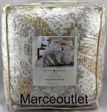 Lucky Brand Home Tapestry Full / Queen 3 Piece Comforter Set Gold