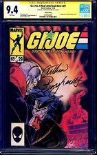 G.I. Joe A Real American Hero #29 CGC SS 9.4 signed Arthur Burghardt 3rd PRINT