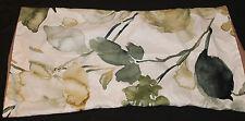Botanical King Pillow Sham polyester green brown nwop #120