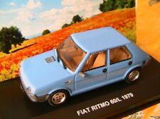 FIAT RITMO 60L 1979 BLEU CIEL ITALIA 1/43 EDISON EG SKY BLUE AZZURE ITALIE